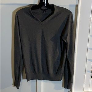Men's dark gray sweater